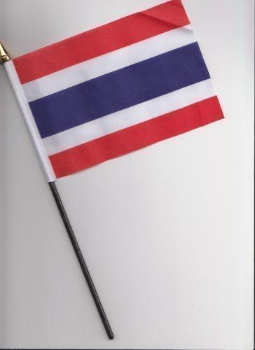 Bandiera mano Tailandia da 25
