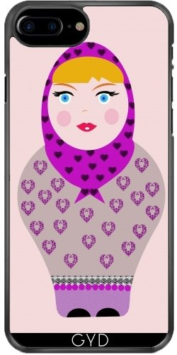 Custodia per Iphone 7 Plus / 8 Plus (5,5) - Russian Doll by les caprices de filles Plastique Rigide