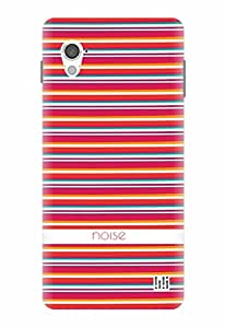 Noise Red Stripes Printed Cover for InFocus M370