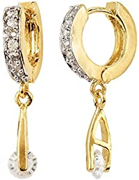 CARDINALSTYLISH DESIGNER PARTY WEAR AMERICAN DIAMOND EARINGS FOR WOMEN/GIRLS