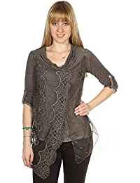 Pineapple Femmes Tunique shirt Taupe BETSY-TAUPE