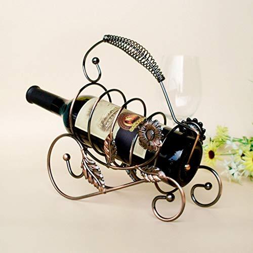 Omiky Wein Flaschen ständer,Metall Weinregal Ständer Flaschenhalter Lagerung Hochzeit Party Decor...