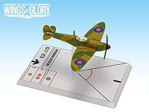 Ares Games AREWGS401A Supermarine Spitfire MK.I: WW2 Squadron Pack Wings of Glory
