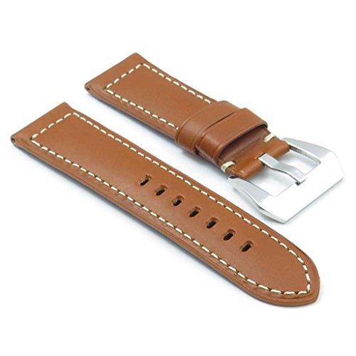 dassari-monaco-bande-pour-montre-en-cuir-lisse-brun-clair-pour-panerai-taille-24-22-24mm