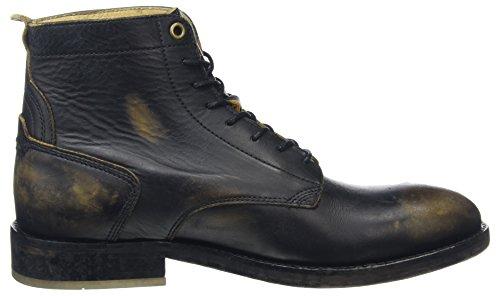 Hudson London Herren Mckendrick Klassische Stiefel Schwarz (Black)