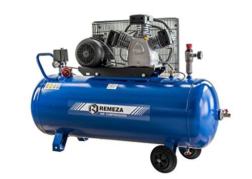 Preisvergleich Produktbild Remeza Druckluft Kompressor 3 kW/400 V, 10 bar, 3 Zylinder, 200 Liter Kessel, 580 l/min Ansaugleistung für Werkstatt und Industrie