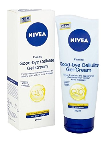 Nivea Q10 Energy Plus Firming Good-Bye Cellulite Gel-Cream, 200 ml, Pack of 2