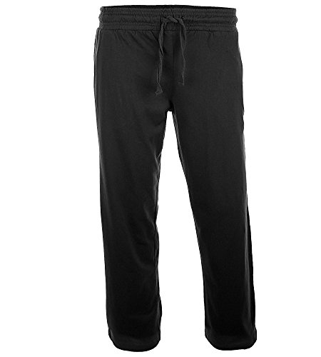 HERREN Hose SPORT- & FREIZEITHOSE Jogginghose Laufhose Schlupfhose Relaxhose 3 Farbvarianten, Farbe:Schwarz, Größe:XL