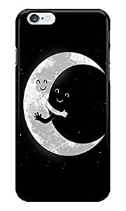 Dreambolic Moon Hug Back Cover for Apple iPhone 6S