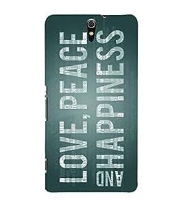 PrintVisa Designer Back Case Cover for Sony Xperia C5 Ultra Dual :: Sony Xperia C5 E5533 E5563 (Quote Love Heart Messages Crazy Express Sorry )