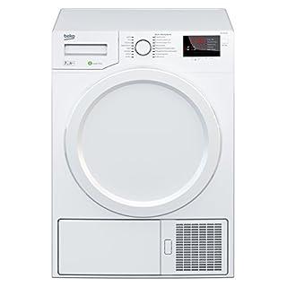 Beko DPS 7405 W3 Wärmepumpentrockner/A++ / 7kg / Multifunktionsdisplay/weiß / Aquawave-Schontrommel/Express-Programm/FlexySense Sensortechnologie/Automatischer Knitterschutz