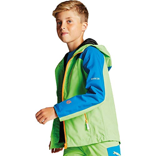 Dare 2b Kinder Avail Jacket Jacke, Jasmine/PtrB, FR : L (Taille Fabricant : 11-12) -