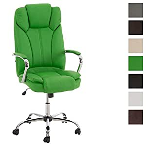 clp fauteuil de bureau ergonomique xanthos xxl en similicuir si ge de bureau avec dossier haut. Black Bedroom Furniture Sets. Home Design Ideas