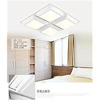 BBSLT Piazza minimalista moderno illuminazione acrilico LED lampada da soffitto