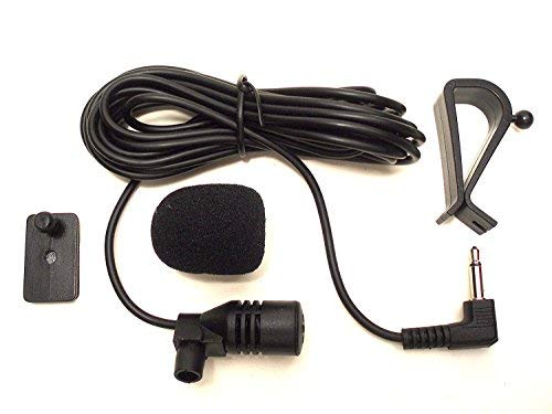 augustcoco Mikrofon 3.5mm Externes Mikrofon Montage für Auto Fahrzeug Head Unit Bluetooth Audio Stereo Radio GPS DVD