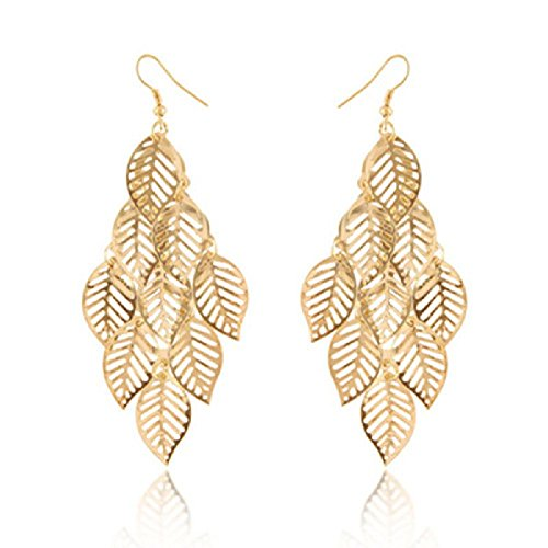 trod-bohemia-style-nine-leaves-long-fashion-dangle-pendant-earring-hook-gold
