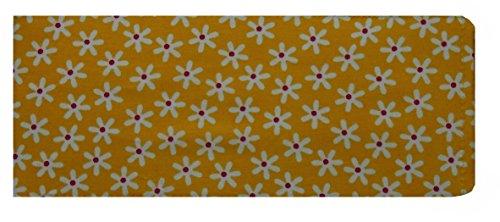 Gelbes gŠnseblŸmchen Scheckheft Cover - GlŠnzend (Brieftasche Damen-scheckheft)