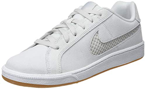 Nike Court Royale Premium, Scarpe da Tennis Donna, Bianco Platinum Tint/Half Blue 003, 36.5 EU