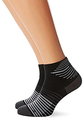 Nike Men's 2ppk Running Dri-fit Ligh Socks (2 Pair)