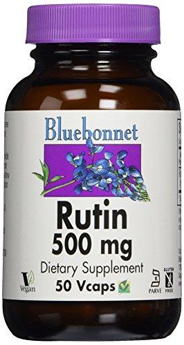 Bluebonnet Nutrition, Rutine, 500 mg, 60 Capsules végétales
