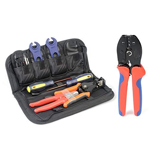 Zoom IMG-2 iwiss mc4 crimpatrice kit con