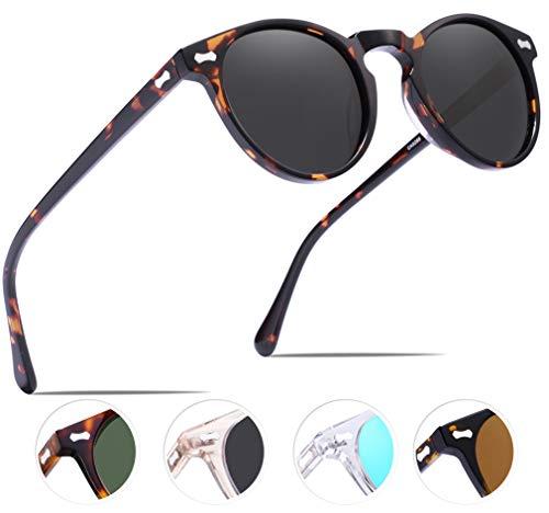 Carfia Vintage Polarizadas Gafas Sol Mujer Hombre