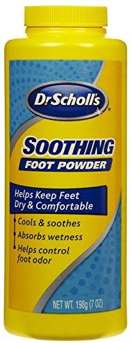 Dr. Scholl's - Polvo para pies, fría y calmante, 19,05 ml