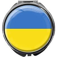 Pillendose/rund/Modell Leony/FLAGGE UKRAINE preisvergleich bei billige-tabletten.eu