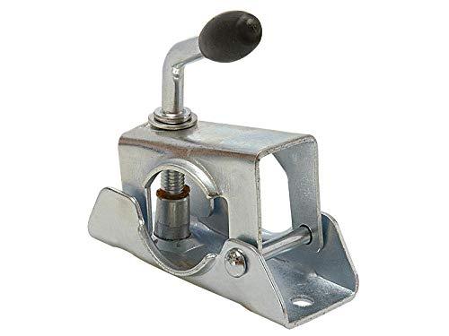 MS-Warenvertrieb Klemmhalter Klemmhalterung für Stützräder oder Abstellstütze mit einem Durchmesser von 48 mm