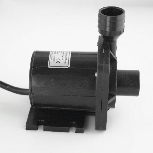 Tangda DC 24V Wasserpumpe Tauchpumpe Geschwindigkeit einstellbar 423GPH 43ft DC50B-24130A Brushless Water Pump Gartenpumpe -