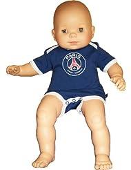 """Body t-shirt officiel PSG - PARIS SAINT GERMAIN - Bébé Puericulture football """" Supporter """" - Ligue 1"""