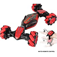 ♥♥ Feature:✔✔ Cool and elegant. This remote control car let your child's childhood more than a joy! Make your life more fun!✔✔ The track is twisted and driven at a high speed, so that children can experience different pleasures!✔✔ Lateral oblique dri...