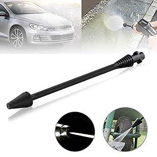 warm-smile 145 Bar Dirt Blaster Lance Turbo Nozzle for Karcher K2 K3 K4 K5 High Pressure Washer Cleaning Lance (Black)