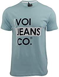 VOI Mens T-Shirt Jeans 'Declan' Short Sleeved