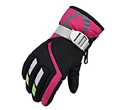 Kinder Ski Wasserdichte Handschuhe Winter Warm Outdoor Riding Verdickung Handschuhe YR.Lover