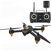Hubsan H501S X4 Pro BRUSHLESS FPV Drone FPV Transmisor GPS 1080p HD Cámara Cuadricóptero High Edition (H501S Negro)