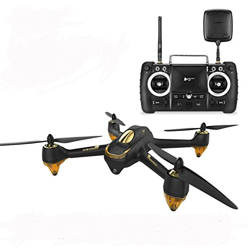 JYZ drohne Hubsan H501s x4 Pro 5,8G FPV Quadcopter 10 Together with Kan?le Headless Modus GPS RTF Drohne mit 3M Pixel Kamera (Hohe Version) Schwarz