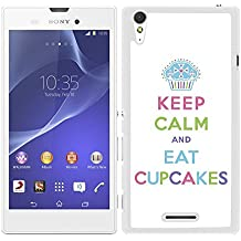 FUNDA CARCASA PARA Sony Xperia T3 KEEP CALM COLORES