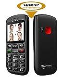 Simvalley Mobile Telefon: Komforthandy mit Bluetooth, Garantruf, Foto-Kontakten und Ladestation (Komfort Handy)