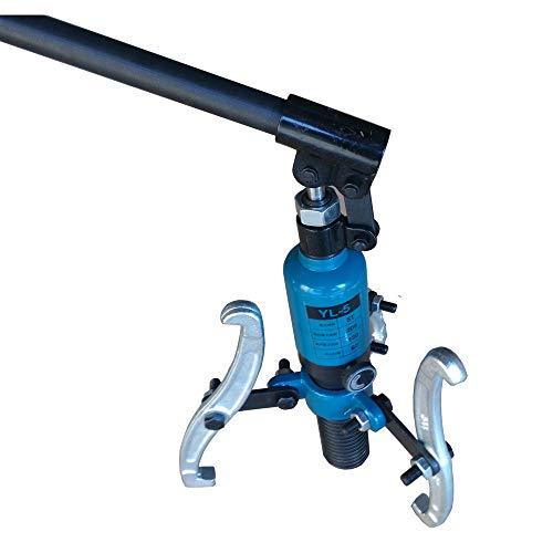 Fy-Light Kit de extractor de engranajes hidráulico de 3 mordazas de unidad integral 5T Kit de herramientas de buje separador de extractor de mordazas
