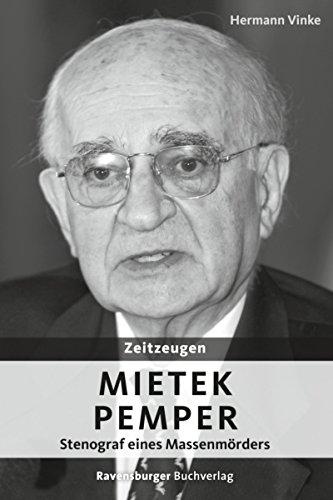 Zeitzeugen: Mietek Pemper: Stenograf eines Massenmörders