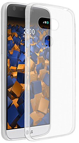 mumbi UltraSlim Hülle für LG G5 Schutzhülle transparent (Ultra Slim - 0.55 mm)