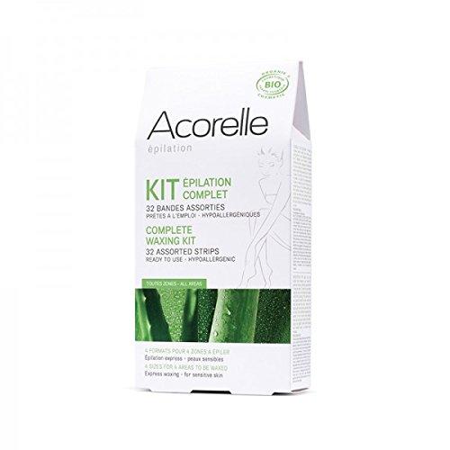 ACORELLE Kit épilation complet - 32 bandes