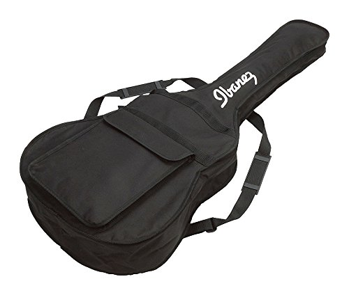 Ibanez IABB101 Tasche für Akustikbass mit Ibanez-Logo, Schwarz