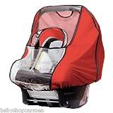 Sunnybaby 12222 Regenschutz aus Nylon für Babyschale - Farbe: ROT