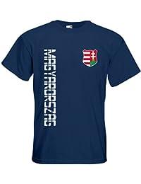 Ungarn Magyarország EM 2016 T-Shirt Trikot