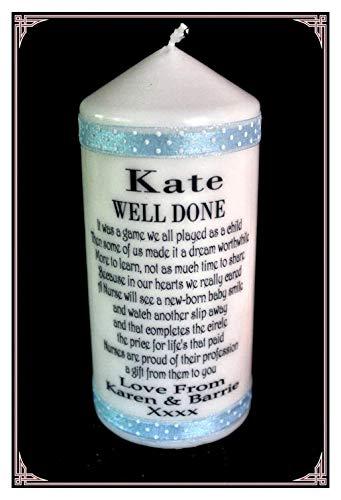 isiertes Geschenk für A Nurse mit schönen Krankenschwester Gedicht, und Ihr Persönliche Nachricht auf. Ideal für einen Schulabschluss, oder einfach nur Danke sagen. ()