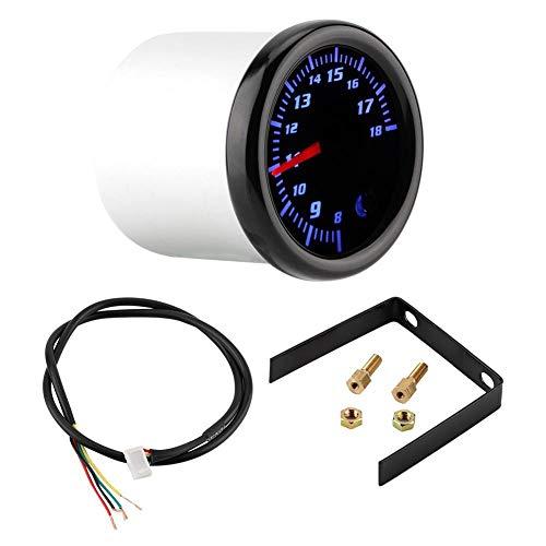 Volt Meter Gauge, 2 Zoll 52mm Universal Auto Auto LED Volt Volt Meter Gauge Voltmeter 7 Farbe -