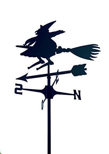 Wetterfahne markiert Wind Hexe. Hergestellt In Italien.