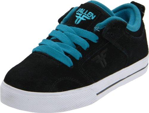 Fallen CLIPPER Youth 43070010, Scarpe da skateboard unisex adulto Nero (Schwarz (Black/Cyan))